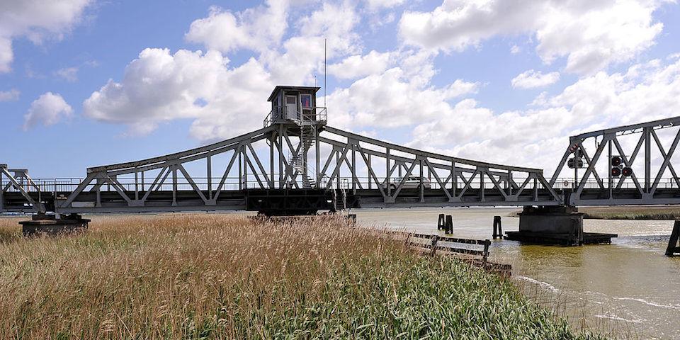 Meiningenbrücke auf den Darß