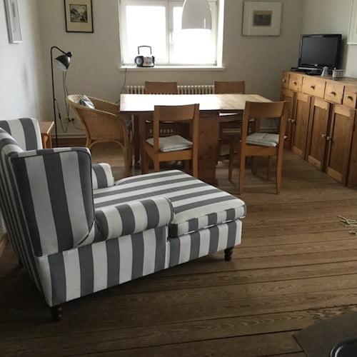 Rustikaler Stil und Holzboden